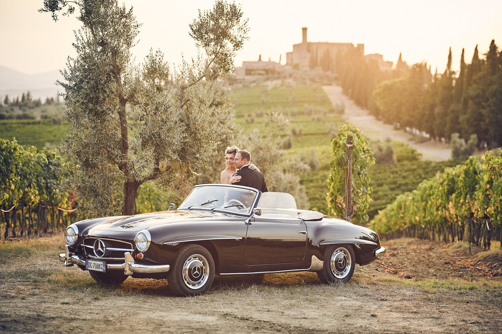 Castello di Banfi wedding