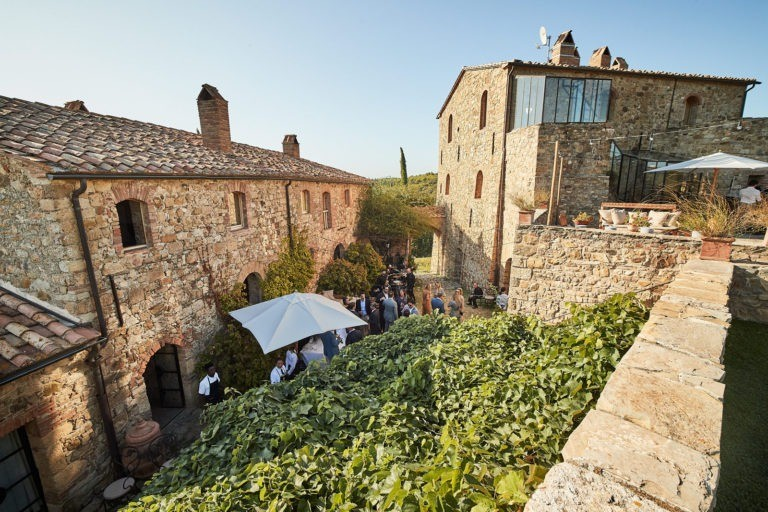 Castello di Vicarello wedding